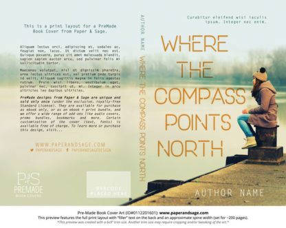 Print Layout for Pre-Made Cover Design #0112201601 (Compass Points North)