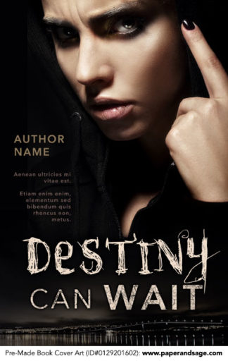 Pre-Made Book Cover ID#0129201602 (Destiny Can Wait)
