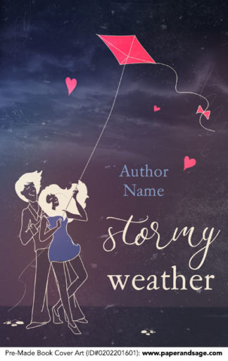 Pre-Made Book Cover ID#0202201601 (Stormy Weather)