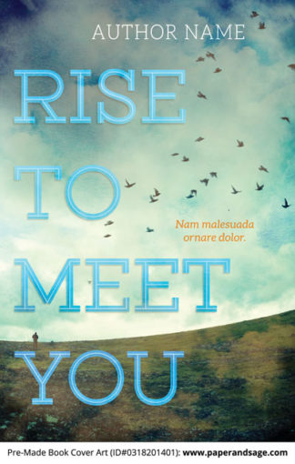 Pre-Made Book Cover ID#0318201401 (Rise to Meet You)