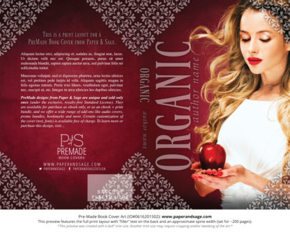 Print layout for Pre-Made Cover Design #0616201502