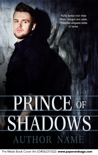 Pre-Made Book Cover ID#0623201502 (Prince of Shadows)
