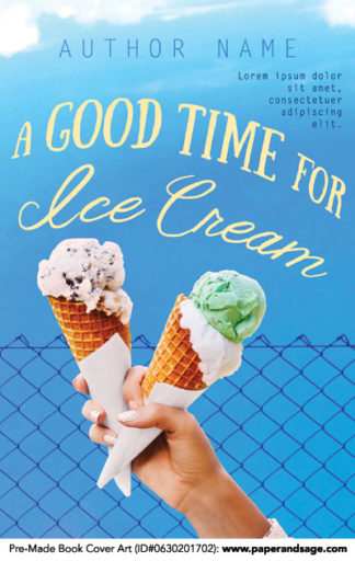 Pre-Made Book Cover ID#0630201702 (A Good Time for Ice Cream)