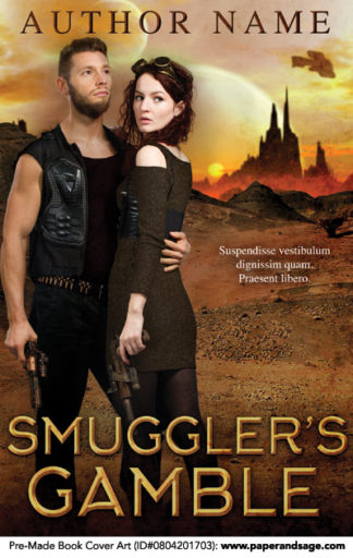Pre-Made Book Cover ID#0804201703 (Smuggler's Gamble)