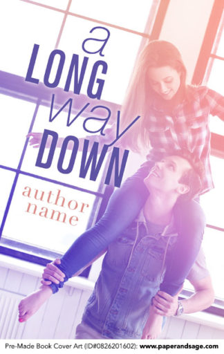 Pre-Made Book Cover ID#0826201602 (A Long Way Down)