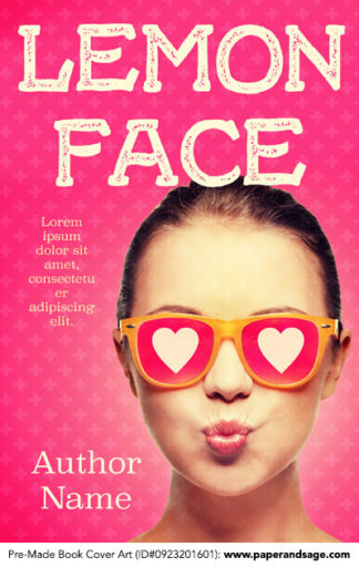 Pre-Made Book Cover ID#0923201601 (Lemon Face)