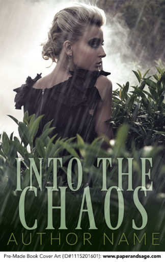 Pre-Made Book Cover ID#1115201601 (Into the Chaos)