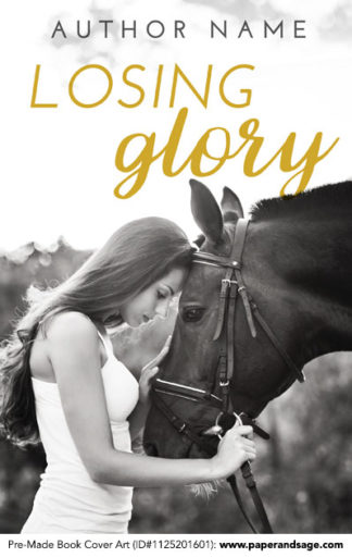 Pre-Made Book Cover ID#1125201601 (Losing Glory)