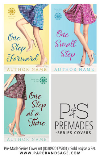 PreMade Series Covers ID#092017SB01 (Step Out Trilogy, Only Sold as a Set)