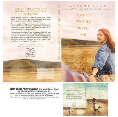 Print layout for PreMade Series Covers ID#092017SF01 (Since You're With Me, Only Sold as a Set)