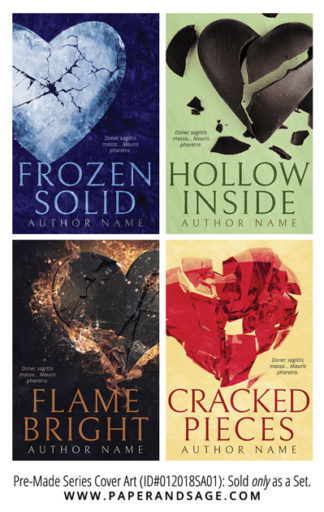 PreMade Series Covers ID#012018SA01 (Frozen Solid, Only Sold as a Set)